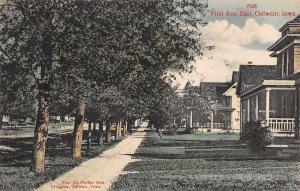 Oelwein Iowa~Nice Homes on First Avenue East~Pfeiffer Bros Druggists Pub~1909