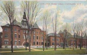 New York Cortland State Normal School 1909