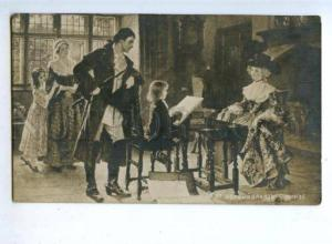 176438 Young Painter First Order by DIKZE Vintage postcard