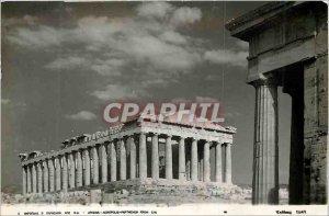 Postcard Modern Athens Acropolis Parthenon