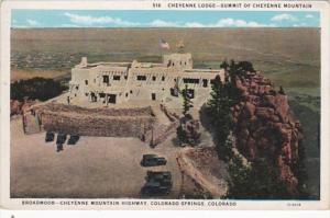 Colorado Colorado Springs Cheyenne Lodge Summit Of Cheyenne Mountain Curteich