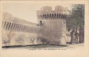 France Avignon Les Remparts