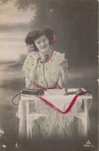 RP: Woman on a telephone , 00-10s