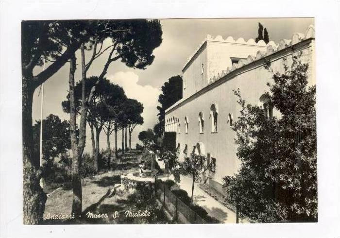 RP, Museo San Michelle, Anacapri (Naples), Campania, Italy, 1920-40s