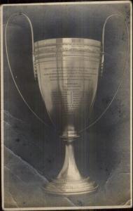 Trophy Knights of Columbus Antwerp Anver Belgium Real Photo Postcard