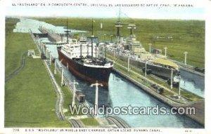 USS Maryland, Gatun Locks Panama Canal Panama Unused