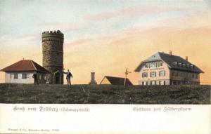 FELDBERG SCHWARZWALD GERMANY-GASTHAUS ZUM FELDBERGTHURM POSTCARD