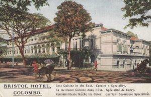COLOMBO , Ceylon , 00-10s ; Bristol Hotel
