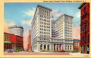 Rhode Island Providence Rhode Island Hospital Trust Building 1945 Curteich