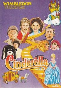 Kathy Staff Jean Fergusson Cinderella Pantomime Wimbledon Theatre Programme