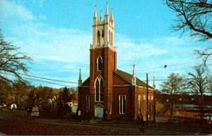 Maine Newcastle Second Congregational Church 1970