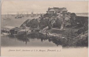 NEWPORT Rhode Island - E D MORGAN House - Beacon Rock / 1910s era view
