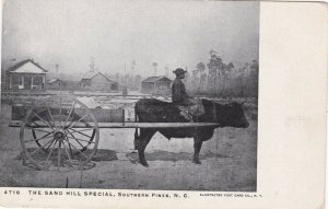 SOUTHERN PINES, NC, 1901-07 ' Ox Cart Sand Hill Special, Black Driver
