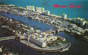 Florida Miami Beach Exclusive North Beach Section With Its Famous Hotel Row A...