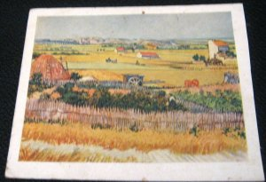Postcard Art Van Gogh Jardins de Maraichers - unposted shortened