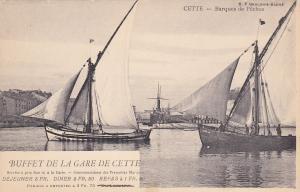 CETTE, France , 1900-10s ; Barques de Peches