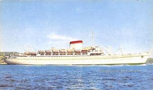 Military Battleship Postcard, Old Vintage Antique Military Ship Post Card Giu...