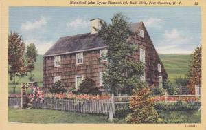 John Lyons Homestead - Port Chester NY, New York - Linen