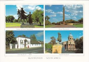 South Africa Bloemfontein Vroue Monument First Raadsaal and Fourth Raadsaal