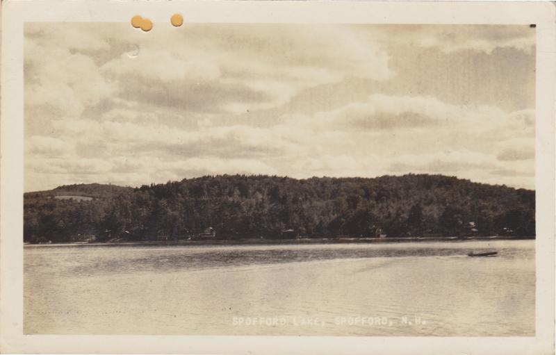 RPPC - Spofford, New Hampshire - Spofford Lake - 1936