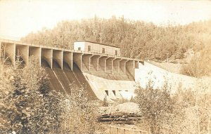 Ripogenus Dam ME View Greenville Millinocket Road Real Photo Postcard