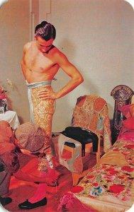 Torero Dresses in The Traditional Traje de Lucas Mexico D. F.  Postcard