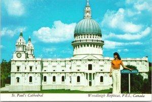 St. Paul's Cathedral Woodleigh Replicas Kensington PE PEI Unused Postcard C3