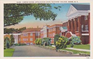 Campus Scene Appalachian State Teachers College Boone North Carolina