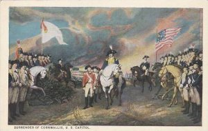 Surrender Of Cornwallis Painting By John Trumbull In U S Capitol Rotunda