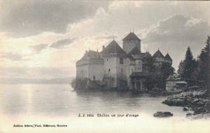 Switzerland Chillon un jour d'orage 02.84