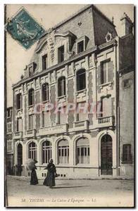 Old Postcard Bank Caisse d & # 39Epargne Thiers