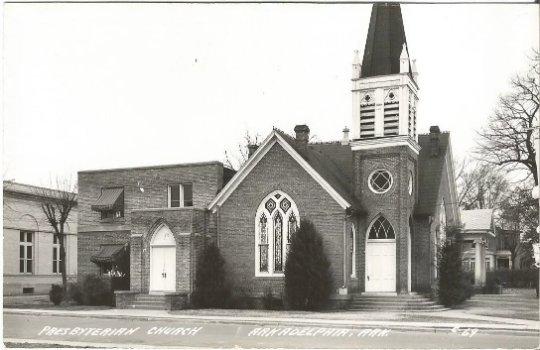 Presbyterian Church Arkadelphia Arkansas 1930 - 1950 Real Photograph Postcard