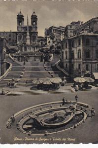 Italy Roma Rome Piazza di Spagna Trinita dei Monti