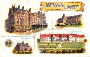 Scotland Glasgow The South Western Railway Hotels