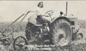 Paratex Tractor Seat Pad , J.I. Case Company , 1941