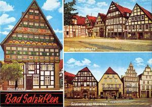 GG11720 Bad Salzueflen Haus Backs, Hinter der Wieke Suedseite des Marktes
