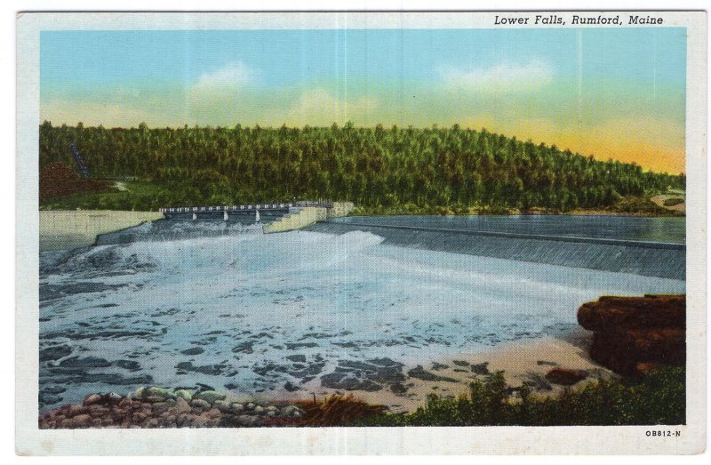 Rumford, Maine, Lower Falls