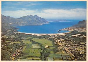 Cape Peninsula Tranquil Hout Bay with the fishing harbour in a rural setting