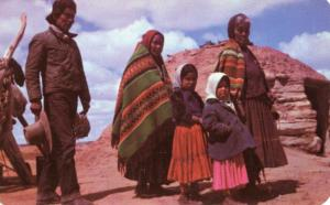 USA - Out West. Navajo Family