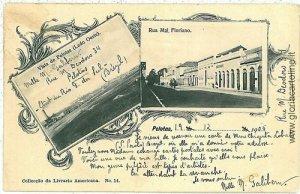 GRUSS AUS - VINTAGE POSTCARD: BRAZIL - PELOTAS 1905