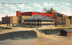 Swift & Company, Fort Worth, Texas, Early Postcard, Used in 1910