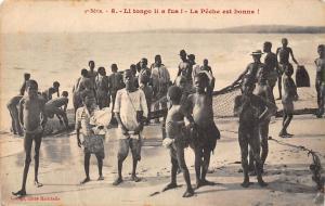 Rep of Congo Li tongo li a fua! La Peche est Bonne! Loango Lwaagu, children