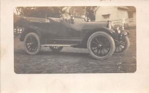 C24/ Automobile Auto Car Early c1910 Real Photo RPPC Postcard Woman Buick