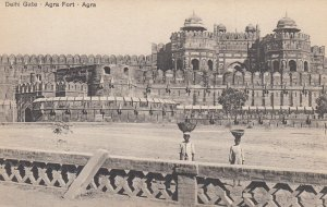 AGRA , India , 00-10s ; Delhi Gate , Agra Fort
