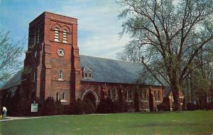 Danville Illinois~Chapel Veterans Administration Hospital~1960 Postcard