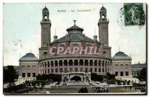 Paris - 16 - The Trocadero Old Postcard