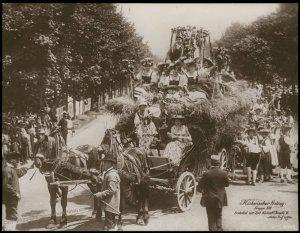Austria 1908 Kaiser Franz Joseph Huldigungs Festival RPPC Thanksgiving Jos 94842