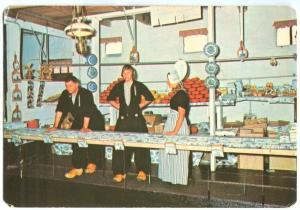 Netherlands, ALIDA HOEVE, Volendam, 1974 used Postcard