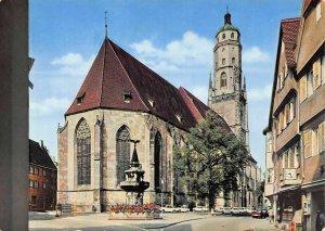 Nordlingen Mittelalters Romantischen Strasse Georgs Church Monument Postcard