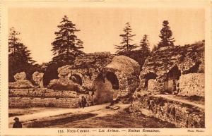 Vintage Sepia Postcard NICE Cimiez  the Arenas Roman ruins by Munier No. 155